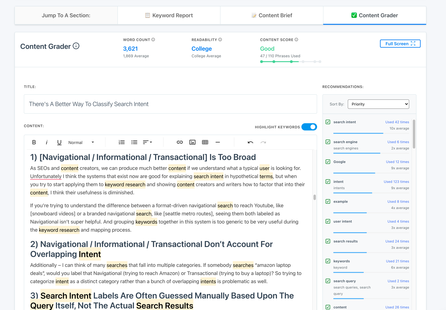 There's A Better Way To Classify Search Intent